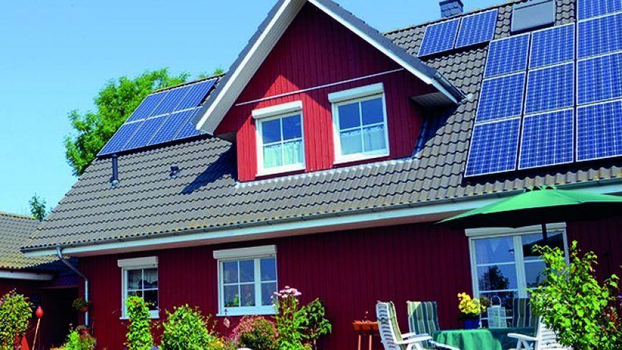 Dom i firma zasilane słońcem